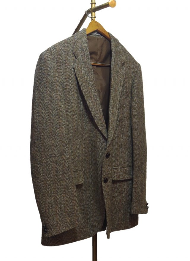 80's UK Harris Tweed Vintage Jacket <img class='new_mark_img2' src='https://img.shop-pro.jp/img/new/icons8.gif' style='border:none;display:inline;margin:0px;padding:0px;width:auto;' />