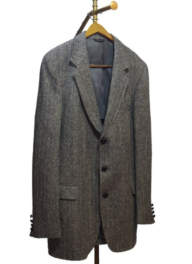 80's USA Harris Tweed Vintage 3 button Jacket <img class='new_mark_img2' src='https://img.shop-pro.jp/img/new/icons8.gif' style='border:none;display:inline;margin:0px;padding:0px;width:auto;' />