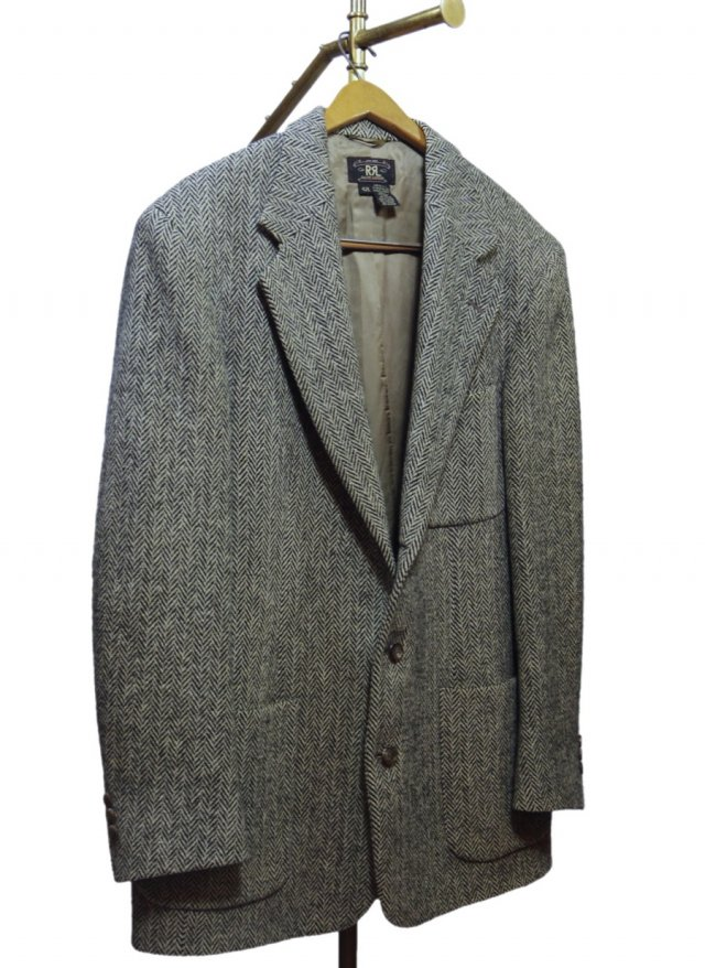 90's USA RRL Vintage Tweed Jacket #612<img class='new_mark_img2' src='https://img.shop-pro.jp/img/new/icons8.gif' style='border:none;display:inline;margin:0px;padding:0px;width:auto;' />