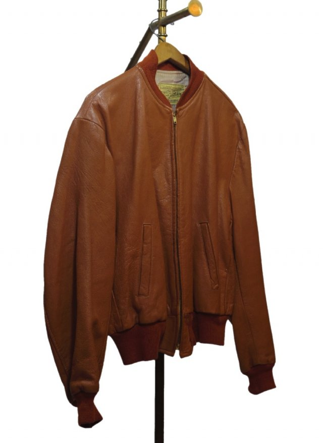 80's Vintage Goat Skin Leather Jacket <img class='new_mark_img2' src='https://img.shop-pro.jp/img/new/icons8.gif' style='border:none;display:inline;margin:0px;padding:0px;width:auto;' />