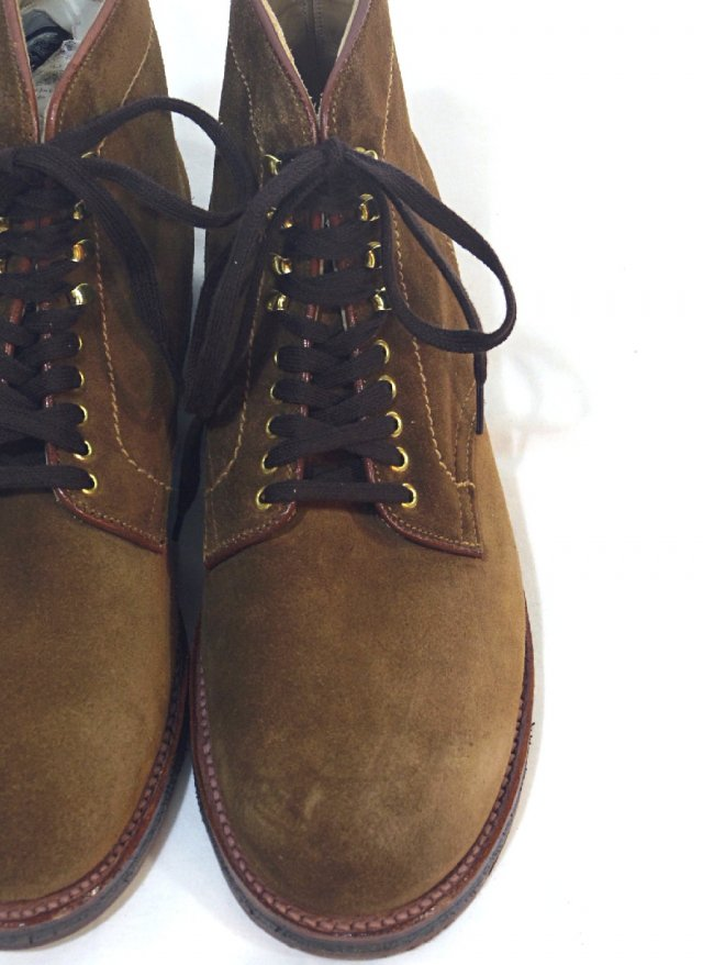 NEW USA【Alden】SNUFF SUEDE LACE UP BOOT -SNUFF-<img class='new_mark_img2' src='https://img.shop-pro.jp/img/new/icons8.gif' style='border:none;display:inline;margin:0px;padding:0px;width:auto;' />