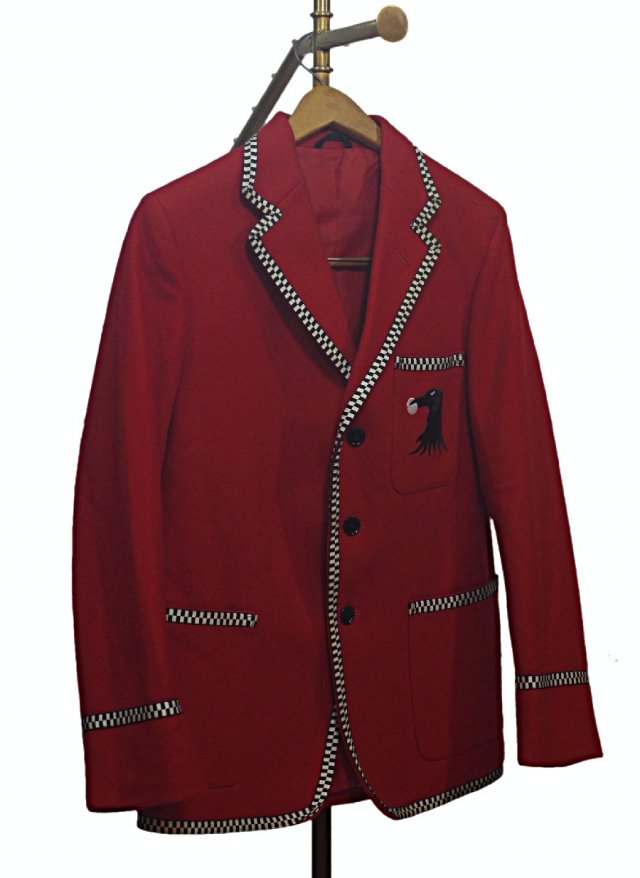 UK 80's Vintage Melton School Blazer #697<img class='new_mark_img2' src='https://img.shop-pro.jp/img/new/icons8.gif' style='border:none;display:inline;margin:0px;padding:0px;width:auto;' />