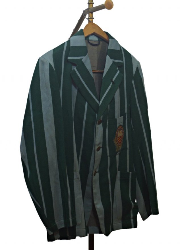 UK 40's Vintage Stripe School Uniform Blazer #700<img class='new_mark_img2' src='https://img.shop-pro.jp/img/new/icons8.gif' style='border:none;display:inline;margin:0px;padding:0px;width:auto;' />