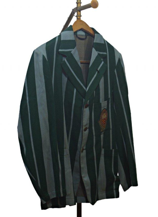 UK 40's Vintage Stripe School Uniform Blazer #700<img class='new_mark_img2' src='https://img.shop-pro.jp/img/new/icons8.gif' style='border:none;display:inline;margin:0px;padding:0px;width:auto;' />
