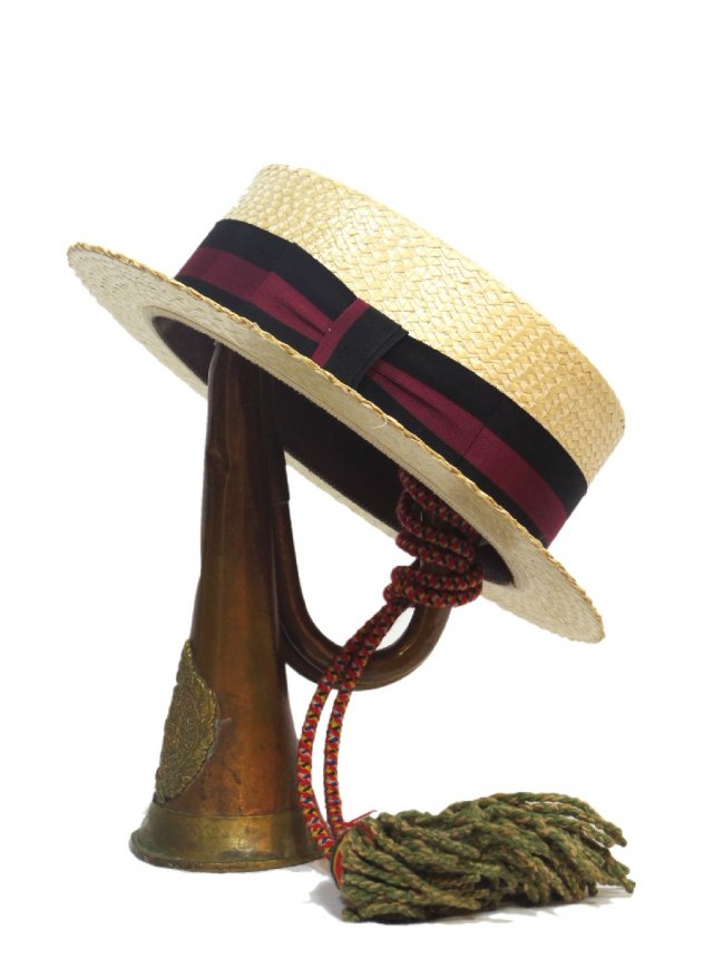 40's WHITEHALL Vintage Boater Hat #746<img class='new_mark_img2' src='//img.shop-pro.jp/img/new/icons8.gif' style='border:none;display:inline;margin:0px;padding:0px;width:auto;' />