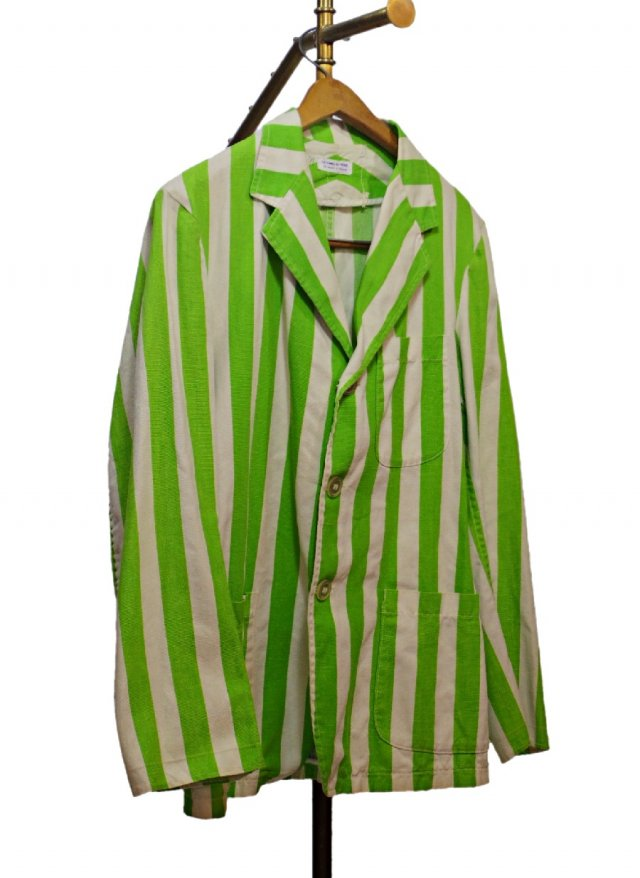 50's USA Vintage  Stripe 3B Cotton Jacket  PIERRE'S COSTUMES <img class='new_mark_img2' src='https://img.shop-pro.jp/img/new/icons8.gif' style='border:none;display:inline;margin:0px;padding:0px;width:auto;' />