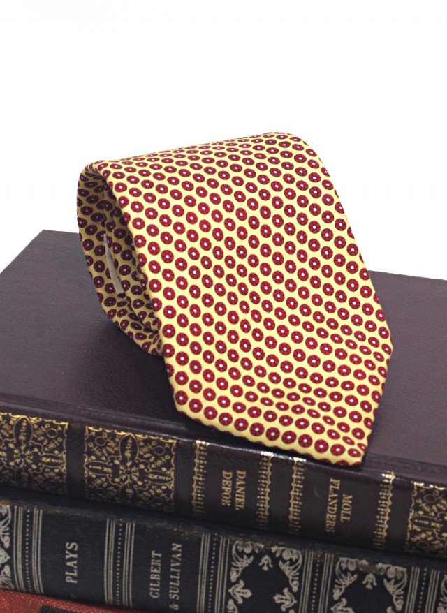 Vintage Silk Dot Neck Tie BEAT PULITZER MORVILLE MEN'S STORE<img class='new_mark_img2' src='https://img.shop-pro.jp/img/new/icons8.gif' style='border:none;display:inline;margin:0px;padding:0px;width:auto;' />