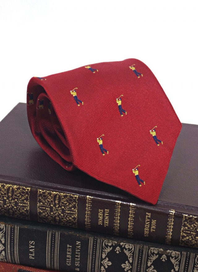 IRL Vintage Crest Silk Neck Tie Atkinsons The Andover Shop<img class='new_mark_img2' src='https://img.shop-pro.jp/img/new/icons8.gif' style='border:none;display:inline;margin:0px;padding:0px;width:auto;' />