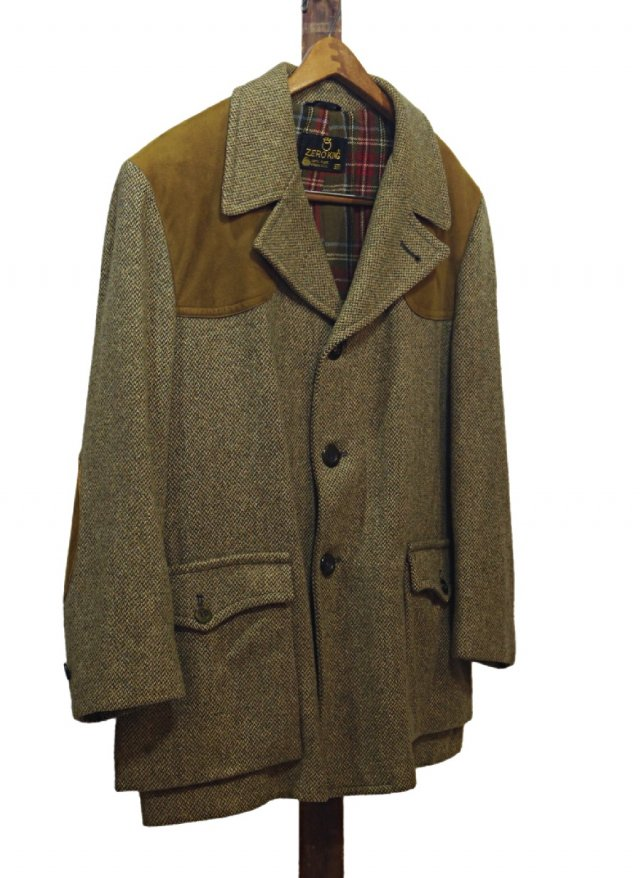 Vintage ZERO KING Shooting Tweed Jacket #104<img class='new_mark_img2' src='https://img.shop-pro.jp/img/new/icons8.gif' style='border:none;display:inline;margin:0px;padding:0px;width:auto;' />