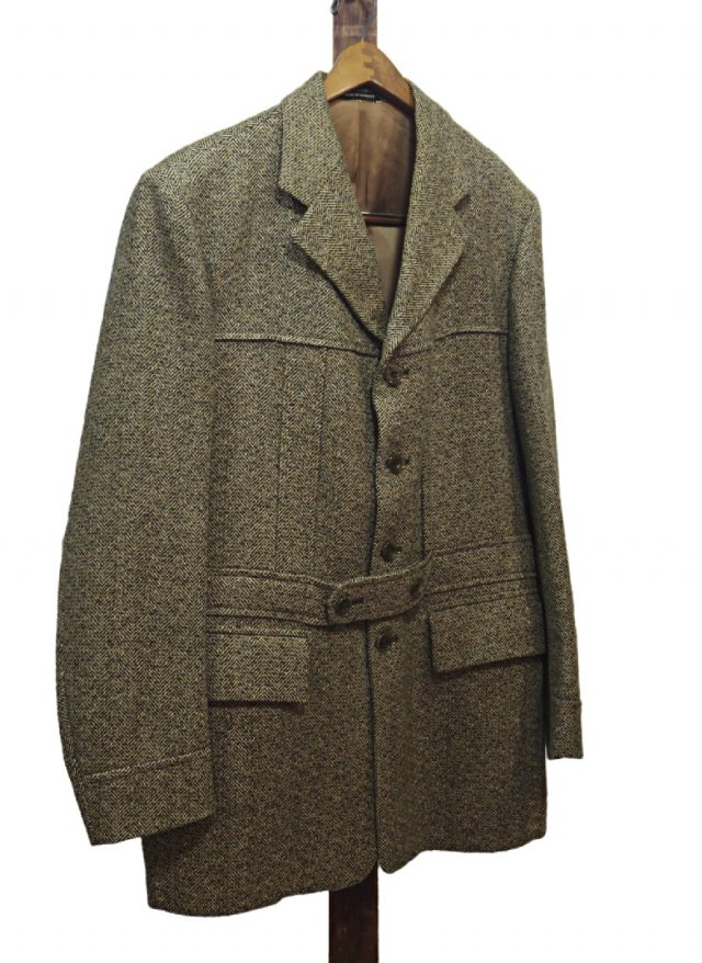 UK Vintage LAMBOURNE phillips piper ltd Tweed Norfolk Jacket #651<img class='new_mark_img2' src='//img.shop-pro.jp/img/new/icons8.gif' style='border:none;display:inline;margin:0px;padding:0px;width:auto;' />