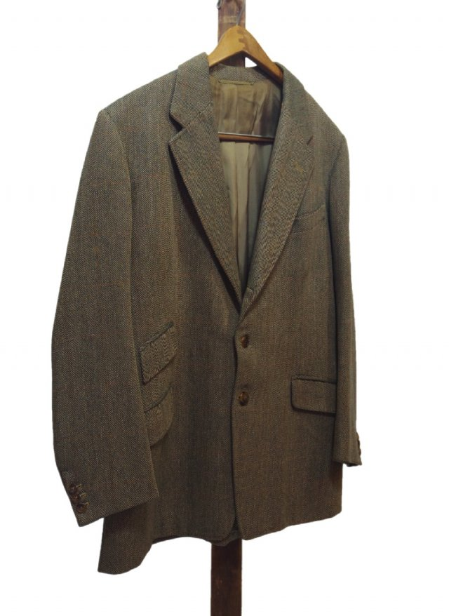 50's UK Vintage CARR,SON & WOOR LTD 9 SAVILE ROW LONDON Bespoke Tweed Hacking Jacket #72<img class='new_mark_img2' src='https://img.shop-pro.jp/img/new/icons8.gif' style='border:none;display:inline;margin:0px;padding:0px;width:auto;' />