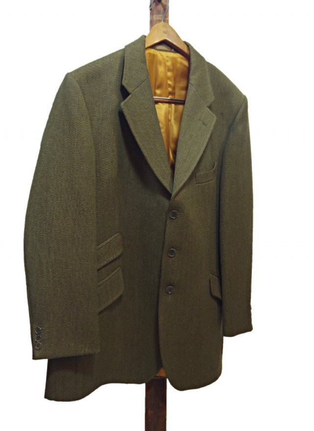 80's Vintage BLADEN SUPASAX Keepers Tweed Hacking jacket #613<img class='new_mark_img2' src='https://img.shop-pro.jp/img/new/icons8.gif' style='border:none;display:inline;margin:0px;padding:0px;width:auto;' />