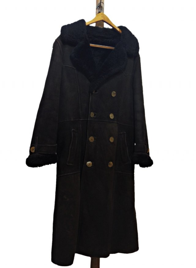 70's SCO Vintage ANTARTEX LOCH LOMOND Sheepskin Double Long Mouton RanchCoat #607<img class='new_mark_img2' src='https://img.shop-pro.jp/img/new/icons8.gif' style='border:none;display:inline;margin:0px;padding:0px;width:auto;' />