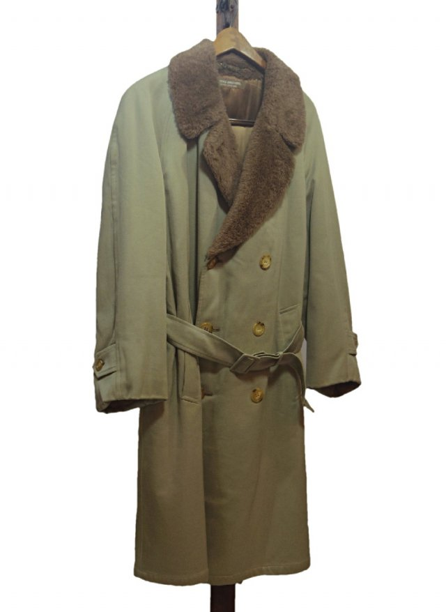 70's Vintage BROOKS BROTHERS Boa Double Wool cotton Coat #<img class='new_mark_img2' src='https://img.shop-pro.jp/img/new/icons8.gif' style='border:none;display:inline;margin:0px;padding:0px;width:auto;' />