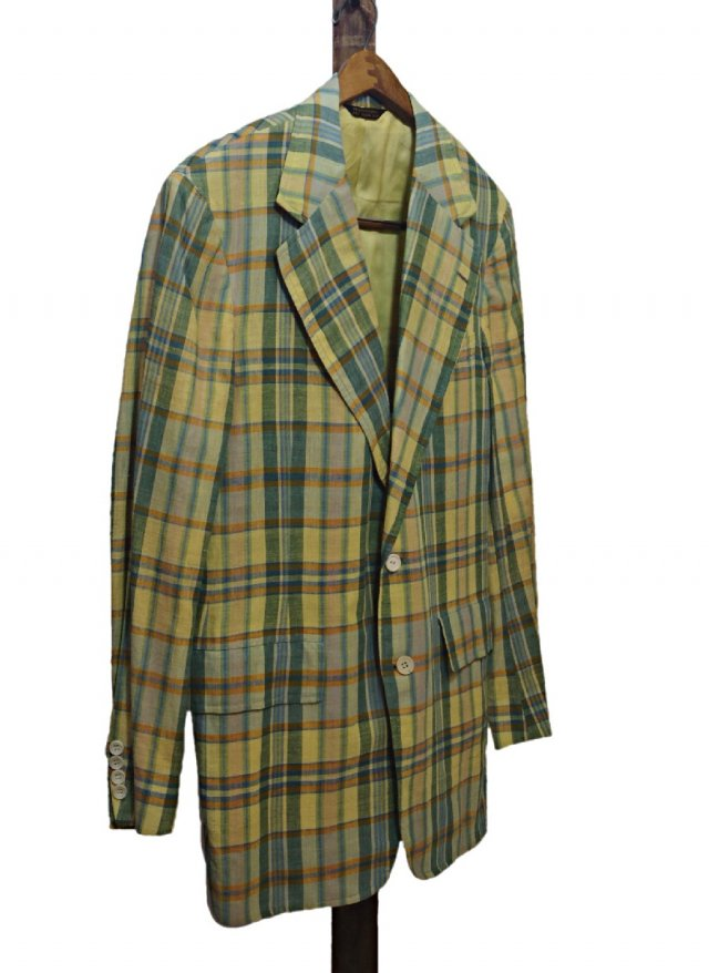 70's USA MADRAS CHECK JACKET CORBIN,LTD×BAMBERGER's<img class='new_mark_img2' src='https://img.shop-pro.jp/img/new/icons8.gif' style='border:none;display:inline;margin:0px;padding:0px;width:auto;' />