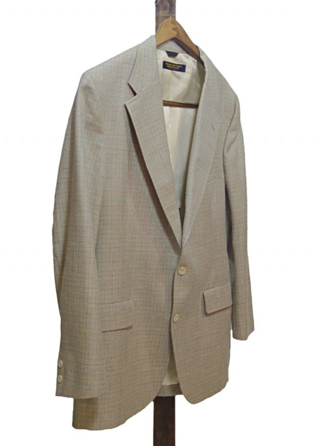 70's USA Vintage BROOKS BROTHERS BROOKS GATE Check Jacket <img class='new_mark_img2' src='//img.shop-pro.jp/img/new/icons8.gif' style='border:none;display:inline;margin:0px;padding:0px;width:auto;' />
