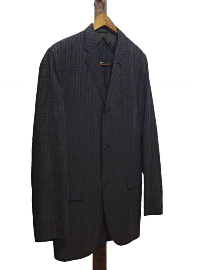 60's USA Vintage Dark Madras Check Jacket Bond CLOTHES<img class='new_mark_img2' src='//img.shop-pro.jp/img/new/icons8.gif' style='border:none;display:inline;margin:0px;padding:0px;width:auto;' />