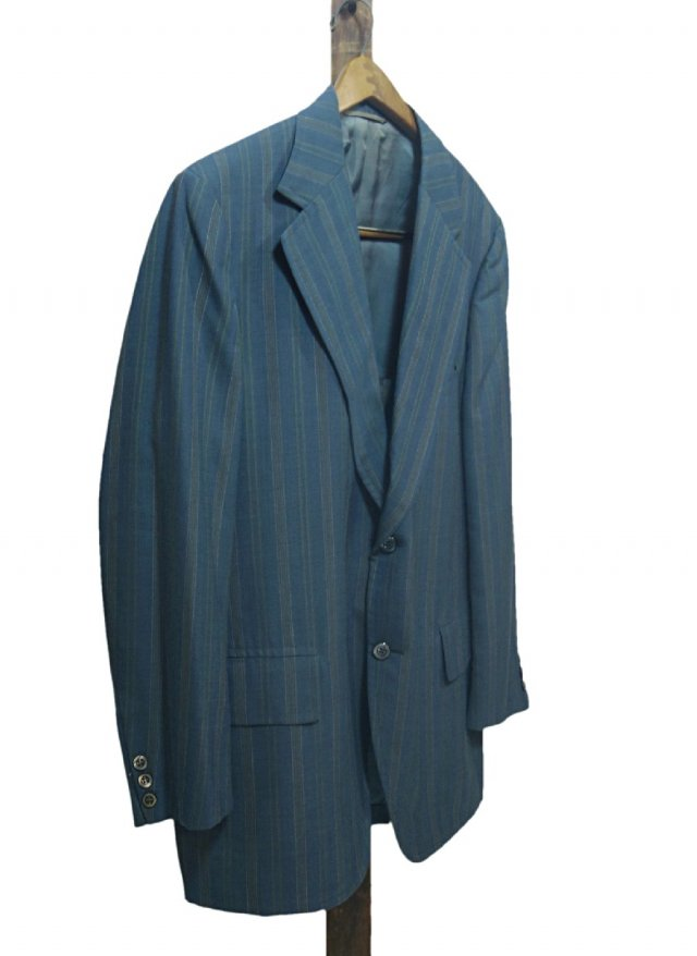 70's USA Vintage Stripe Jacket Kingsridge  JK-0048<img class='new_mark_img2' src='https://img.shop-pro.jp/img/new/icons8.gif' style='border:none;display:inline;margin:0px;padding:0px;width:auto;' />