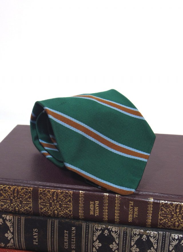 Vintage Rep Stripe Neck Tie Ermilio<img class='new_mark_img2' src='https://img.shop-pro.jp/img/new/icons8.gif' style='border:none;display:inline;margin:0px;padding:0px;width:auto;' />