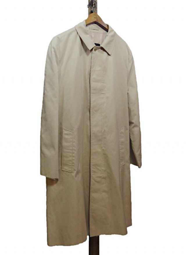 UK 80's GRENFELL Vintage Balmacaan Coat <img class='new_mark_img2' src='https://img.shop-pro.jp/img/new/icons8.gif' style='border:none;display:inline;margin:0px;padding:0px;width:auto;' />