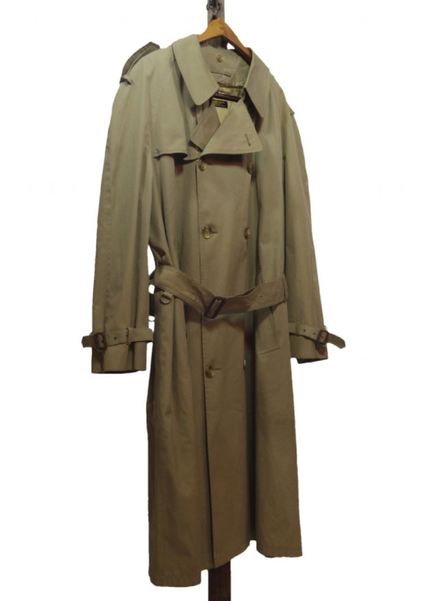 80's USA BROOKS BROTHERS Vintage  Trench Coat #174<img class='new_mark_img2' src='https://img.shop-pro.jp/img/new/icons8.gif' style='border:none;display:inline;margin:0px;padding:0px;width:auto;' />