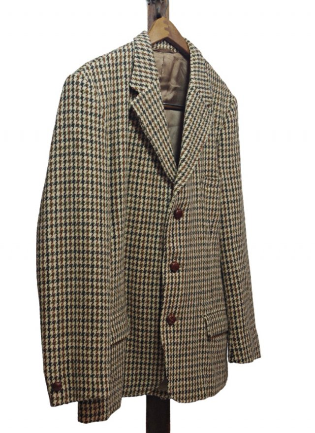 Re standard Vintage 60's UK Harris Tweed × Dunn & Co. Vintage Gun club Check Jacket #7<img class='new_mark_img2' src='//img.shop-pro.jp/img/new/icons8.gif' style='border:none;display:inline;margin:0px;padding:0px;width:auto;' />