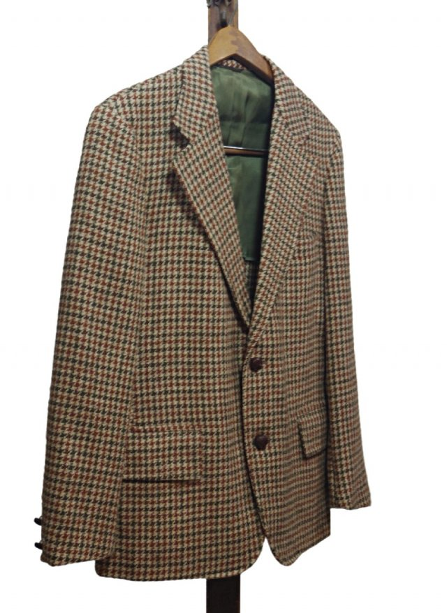 Re standard Vintage 80's UK Harris Tweed Vintage Gun club Check Jacket #11<img class='new_mark_img2' src='https://img.shop-pro.jp/img/new/icons8.gif' style='border:none;display:inline;margin:0px;padding:0px;width:auto;' />