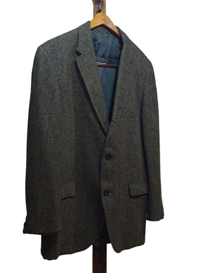 60's-70's USA Harris Tweed Vintage Jacket<img class='new_mark_img2' src='https://img.shop-pro.jp/img/new/icons8.gif' style='border:none;display:inline;margin:0px;padding:0px;width:auto;' />