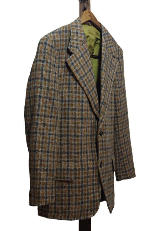 Re standard Vintage 70's USA Harris Tweed × Sears Vintage 3 buttons Jacket #513<img class='new_mark_img2' src='https://img.shop-pro.jp/img/new/icons8.gif' style='border:none;display:inline;margin:0px;padding:0px;width:auto;' />