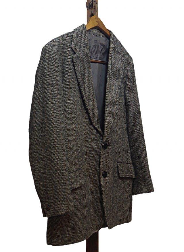 70's UK Harris Tweed × Norm Thompson Vintage Jacket <img class='new_mark_img2' src='https://img.shop-pro.jp/img/new/icons8.gif' style='border:none;display:inline;margin:0px;padding:0px;width:auto;' />