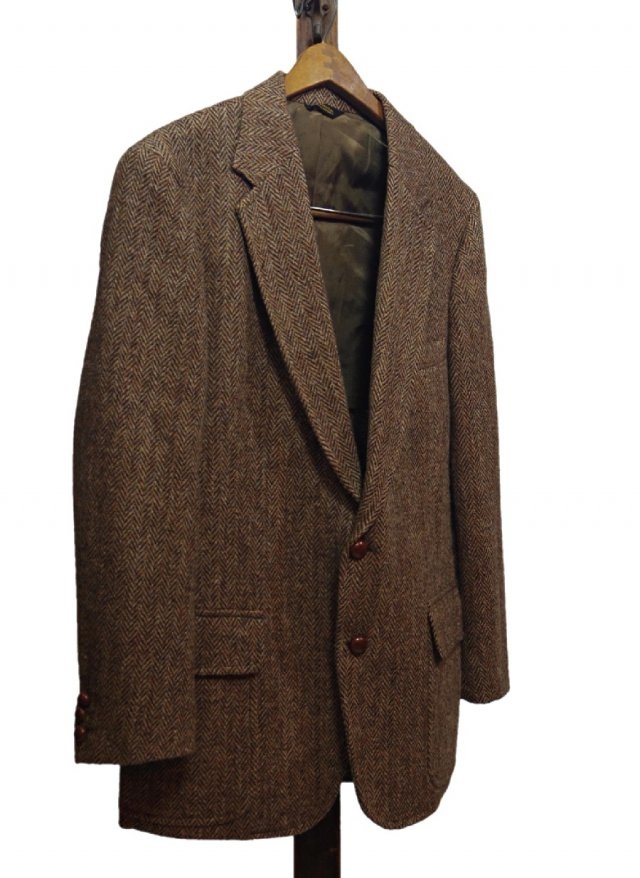 Re standard Vintage 80's USA Harris Tweed Vintage Jacket <img class='new_mark_img2' src='https://img.shop-pro.jp/img/new/icons8.gif' style='border:none;display:inline;margin:0px;padding:0px;width:auto;' />