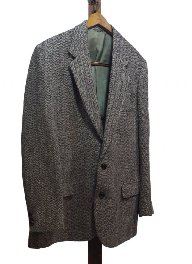 Re standard Vintage 80's USA Harris Tweed Vintage Jacket #3<img class='new_mark_img2' src='https://img.shop-pro.jp/img/new/icons8.gif' style='border:none;display:inline;margin:0px;padding:0px;width:auto;' />