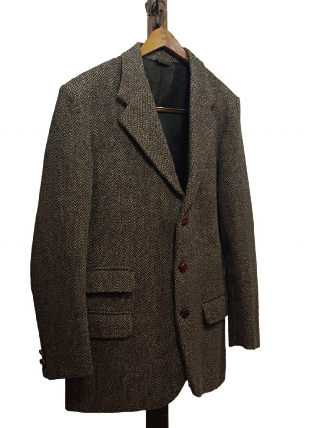 Re standard Vintage 70's UK Harris Tweed Vintage Jacket<img class='new_mark_img2' src='https://img.shop-pro.jp/img/new/icons8.gif' style='border:none;display:inline;margin:0px;padding:0px;width:auto;' />