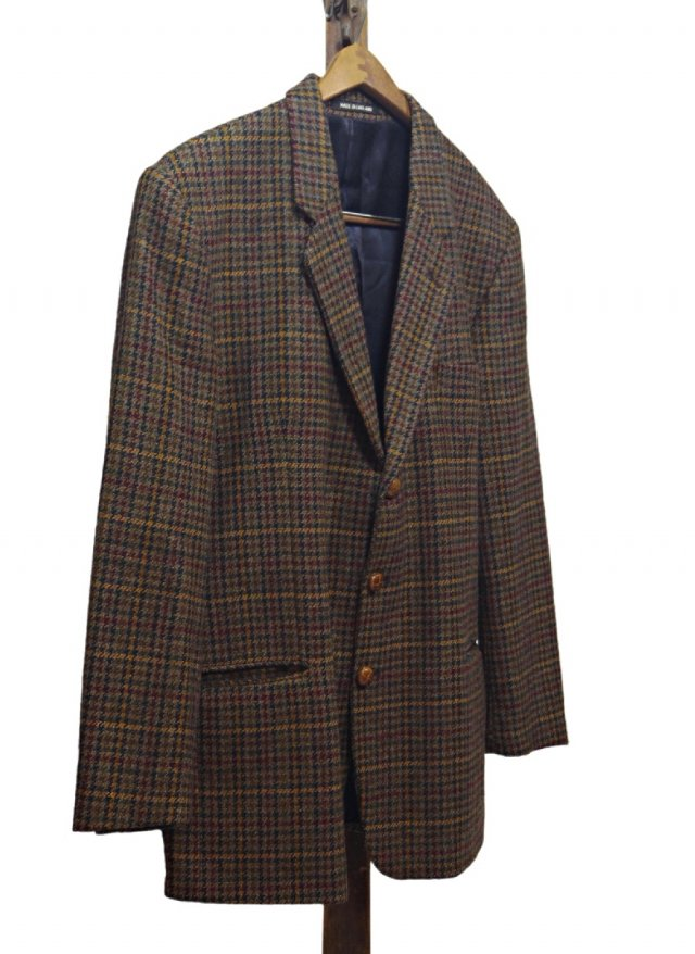 70's UK Vintage Gun club Check Tweed Jacket <img class='new_mark_img2' src='https://img.shop-pro.jp/img/new/icons8.gif' style='border:none;display:inline;margin:0px;padding:0px;width:auto;' />