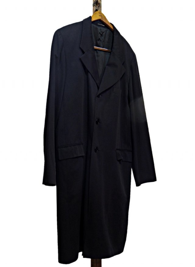 FRA agnès b. Chesterfield Coat #187<img class='new_mark_img2' src='https://img.shop-pro.jp/img/new/icons8.gif' style='border:none;display:inline;margin:0px;padding:0px;width:auto;' />