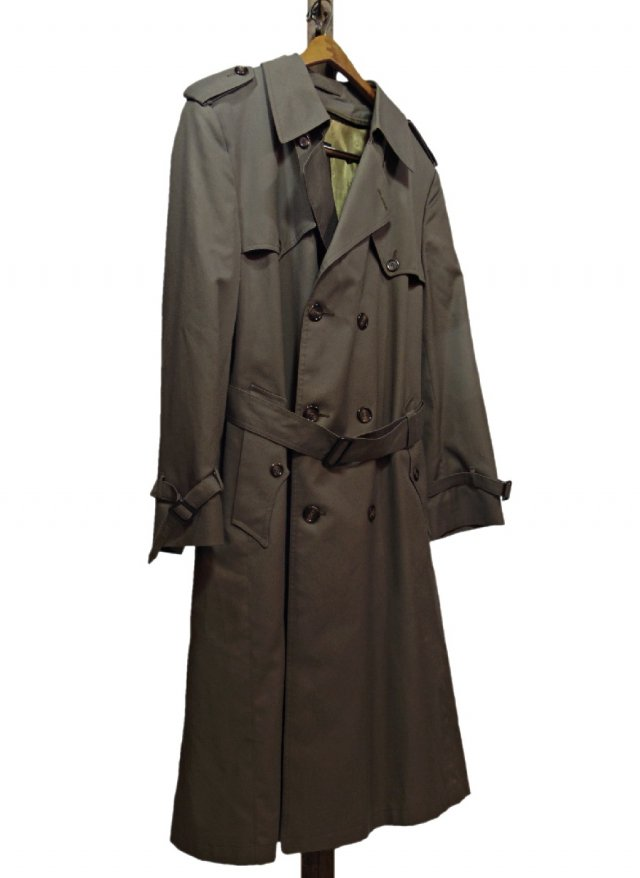 80's USA Vintage Christian Dior MONSIEUR Trench Coat