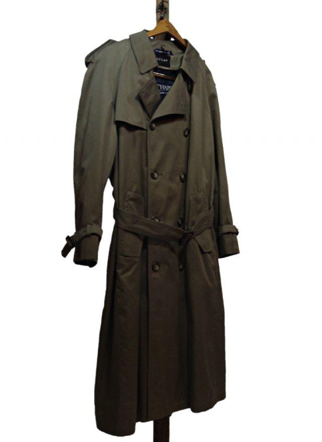 90's Vintage CHAPS Ralph lauren Trench Coat #189