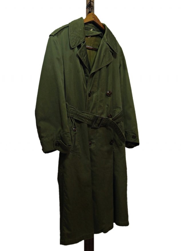 50's U.S.ARMY M-51 Vintage Military Trench Coat #193
