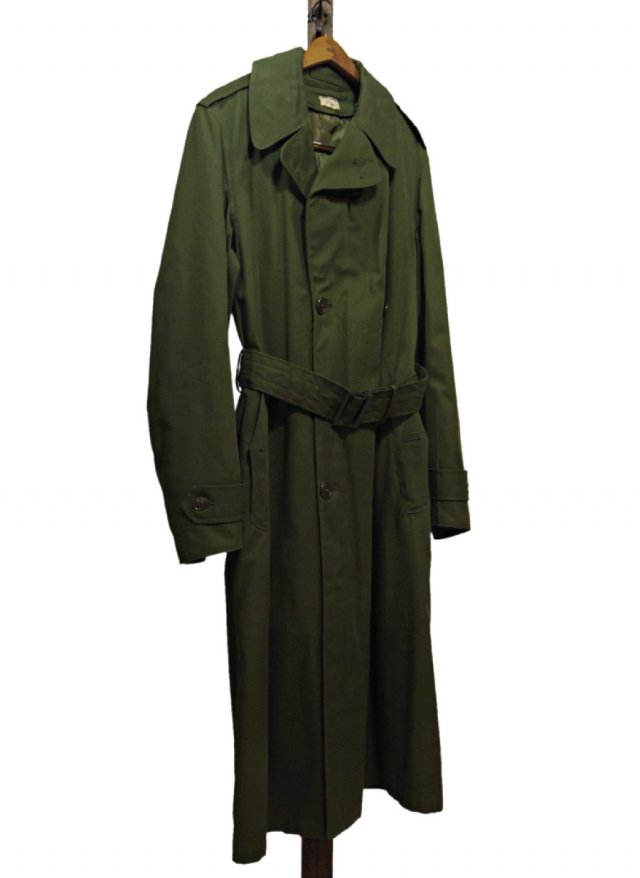 60's U.S.ARMY M-51 Overcoat Vintage Military Trench Coat #191