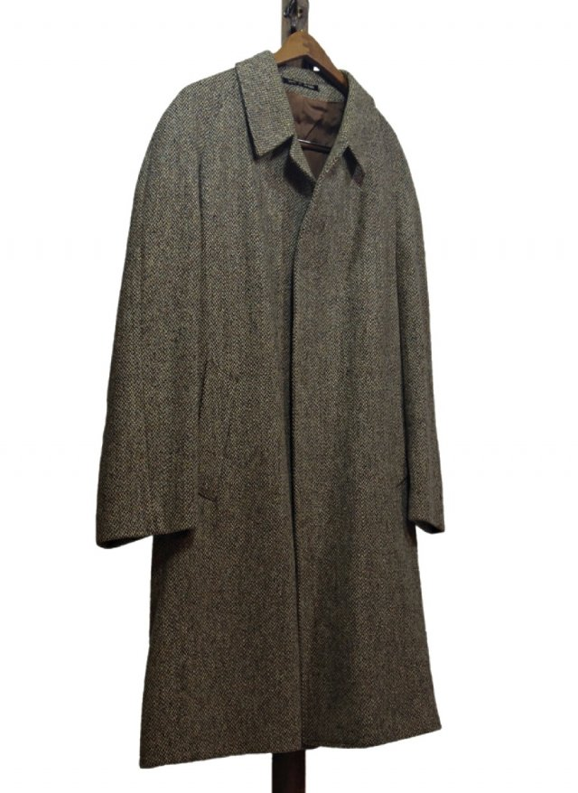 Re standard Vintage 70's UK Harris Tweed × Dunn & Co. Vintage Coat #592<img class='new_mark_img2' src='https://img.shop-pro.jp/img/new/icons8.gif' style='border:none;display:inline;margin:0px;padding:0px;width:auto;' />