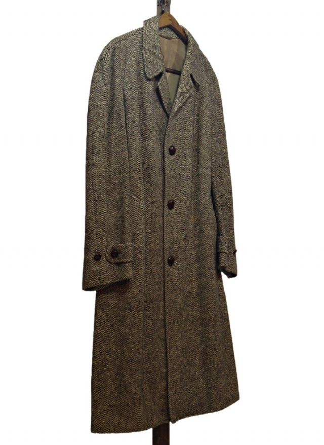 60's USA Tweed Big Size Vintage Coat #129<img class='new_mark_img2' src='https://img.shop-pro.jp/img/new/icons8.gif' style='border:none;display:inline;margin:0px;padding:0px;width:auto;' />