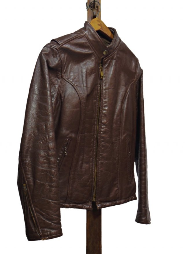 60's USA Vintage LEATHER GARMENT Single Riders Leather Jacket<img class='new_mark_img2' src='https://img.shop-pro.jp/img/new/icons8.gif' style='border:none;display:inline;margin:0px;padding:0px;width:auto;' />