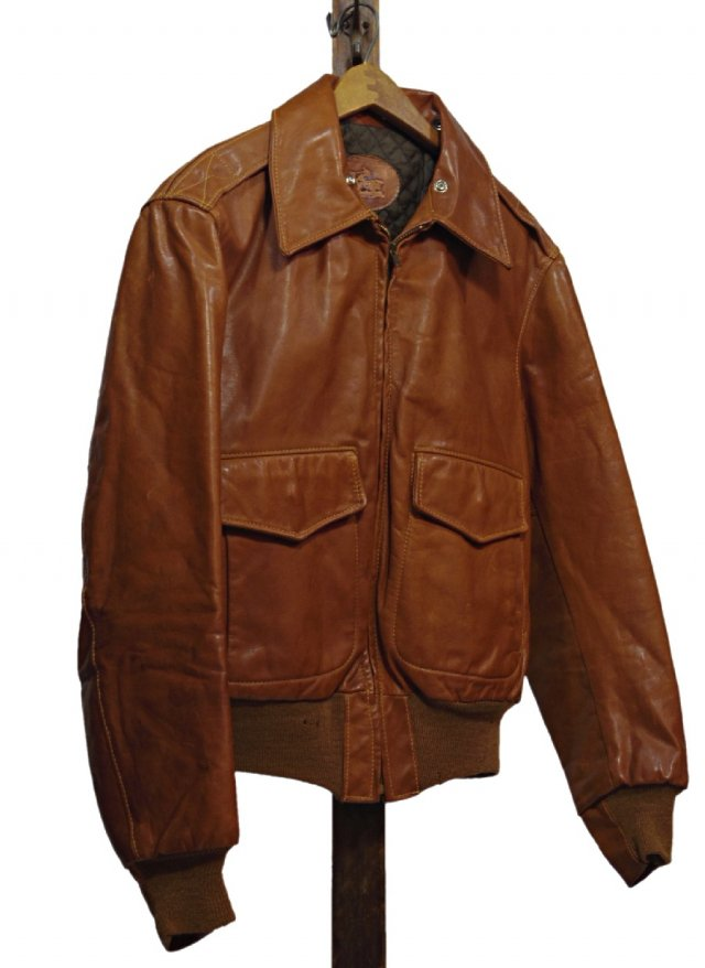 70's USA Vintage  Sea Dream Leather Jacket #237<img class='new_mark_img2' src='https://img.shop-pro.jp/img/new/icons8.gif' style='border:none;display:inline;margin:0px;padding:0px;width:auto;' />