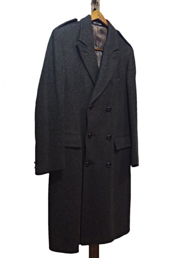 60's-70's UK Vintage Double Wool Coat #141<img class='new_mark_img2' src='https://img.shop-pro.jp/img/new/icons8.gif' style='border:none;display:inline;margin:0px;padding:0px;width:auto;' />