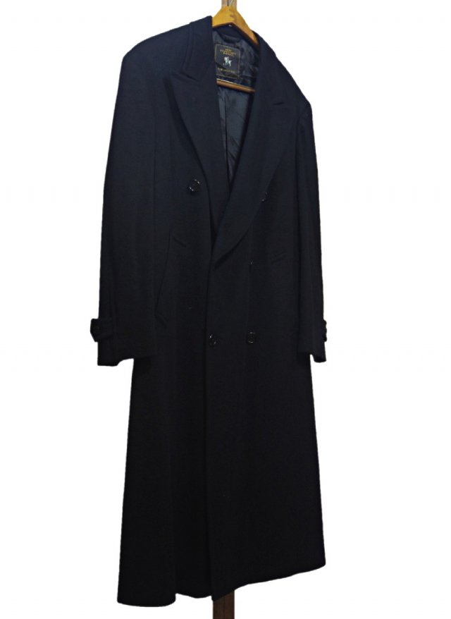 70's-80's USA Vintage HART SCHAFFNER&MARX Double Wool Chesterfield Coat #152<img class='new_mark_img2' src='https://img.shop-pro.jp/img/new/icons8.gif' style='border:none;display:inline;margin:0px;padding:0px;width:auto;' />