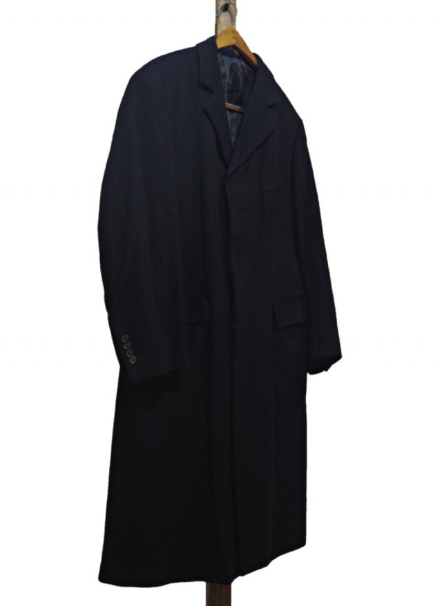90's- ITA Vintage BROOKS BROTHERS Cashmere Chesterfield Coat #148<img class='new_mark_img2' src='https://img.shop-pro.jp/img/new/icons8.gif' style='border:none;display:inline;margin:0px;padding:0px;width:auto;' />