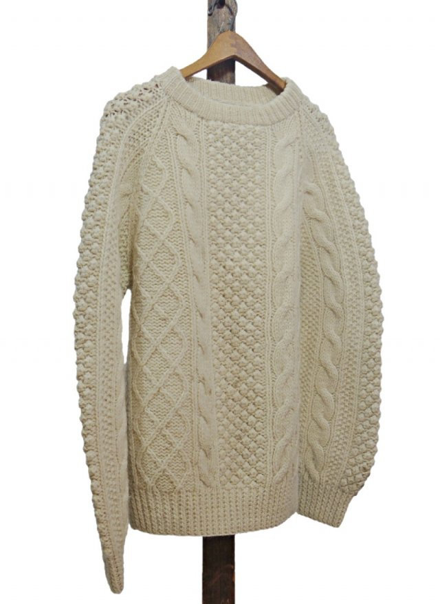<img class='new_mark_img1' src='https://img.shop-pro.jp/img/new/icons8.gif' style='border:none;display:inline;margin:0px;padding:0px;width:auto;' />70's Vintage Fisherman Sweater