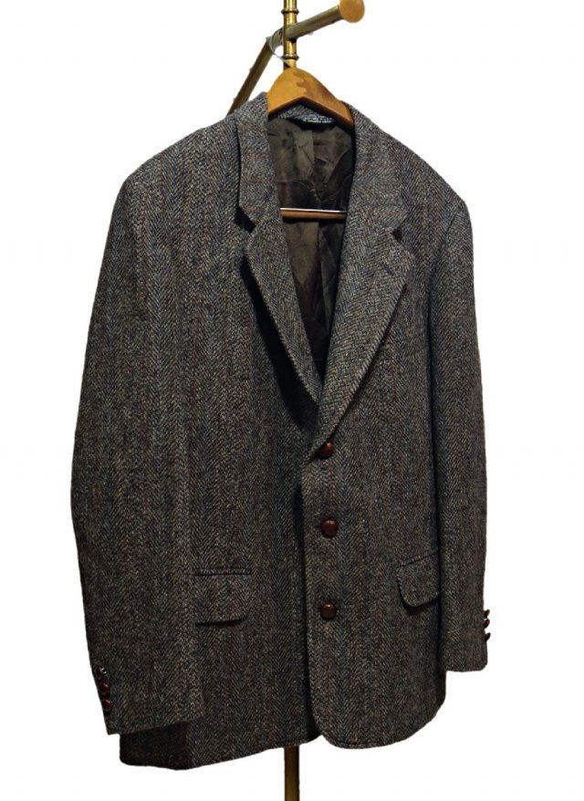 Re standard Vintage 80's USA Harris Tweed Vintage Jacket     HTJ-0018<img class='new_mark_img2' src='https://img.shop-pro.jp/img/new/icons8.gif' style='border:none;display:inline;margin:0px;padding:0px;width:auto;' />