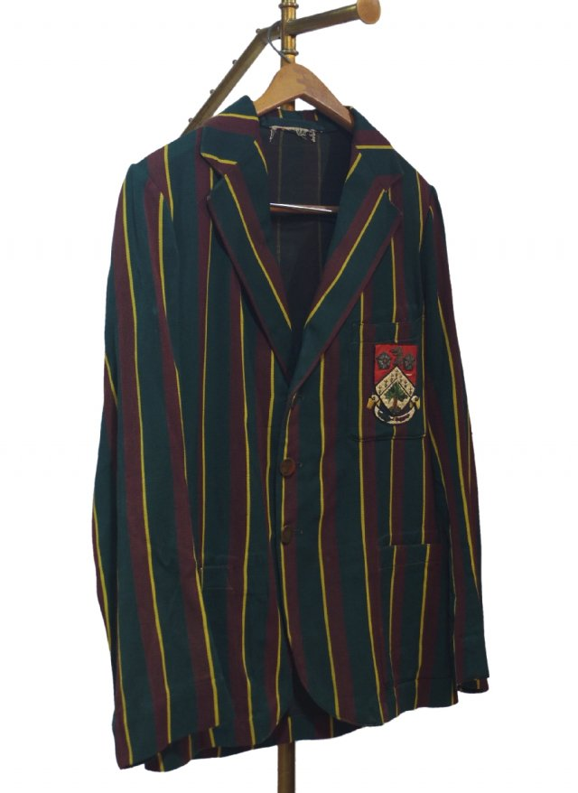 UK 40's Vintage Regatta Stripe School Uniform Blazer #0005<img class='new_mark_img2' src='https://img.shop-pro.jp/img/new/icons8.gif' style='border:none;display:inline;margin:0px;padding:0px;width:auto;' />
