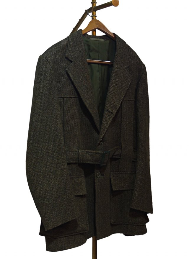 UK 70's Vintage Dunn & Co. Wool Norfolk Jacket #0007<img class='new_mark_img2' src='https://img.shop-pro.jp/img/new/icons8.gif' style='border:none;display:inline;margin:0px;padding:0px;width:auto;' />